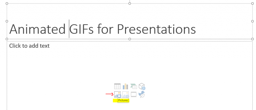 How to Add GIF to Powerpoint